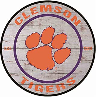 Poeni Man Cave Signs Tin Signs Clemson Tigers Metal Posters for College Dorm Garage Club Bar Living Room