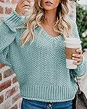 Zoom IMG-1 yidarton maglione da donna oversize