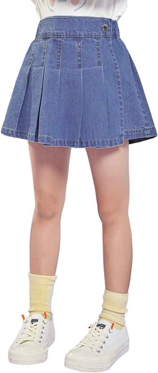 cicie Girls' Denim Jean Shorts Years Kids Wholesale Financial sales sale for Culottes 3-8