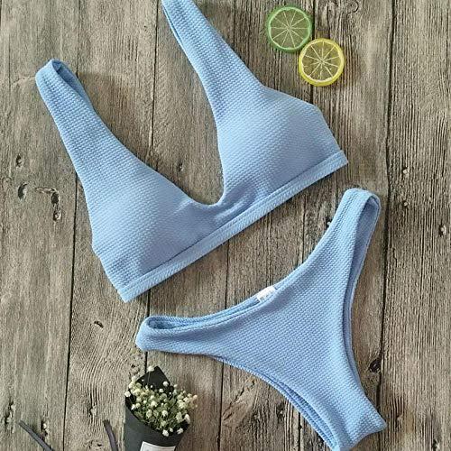 Mooie bikiniset van hoge kwaliteit stoffen push-ups badpak dames badpak pad bikini