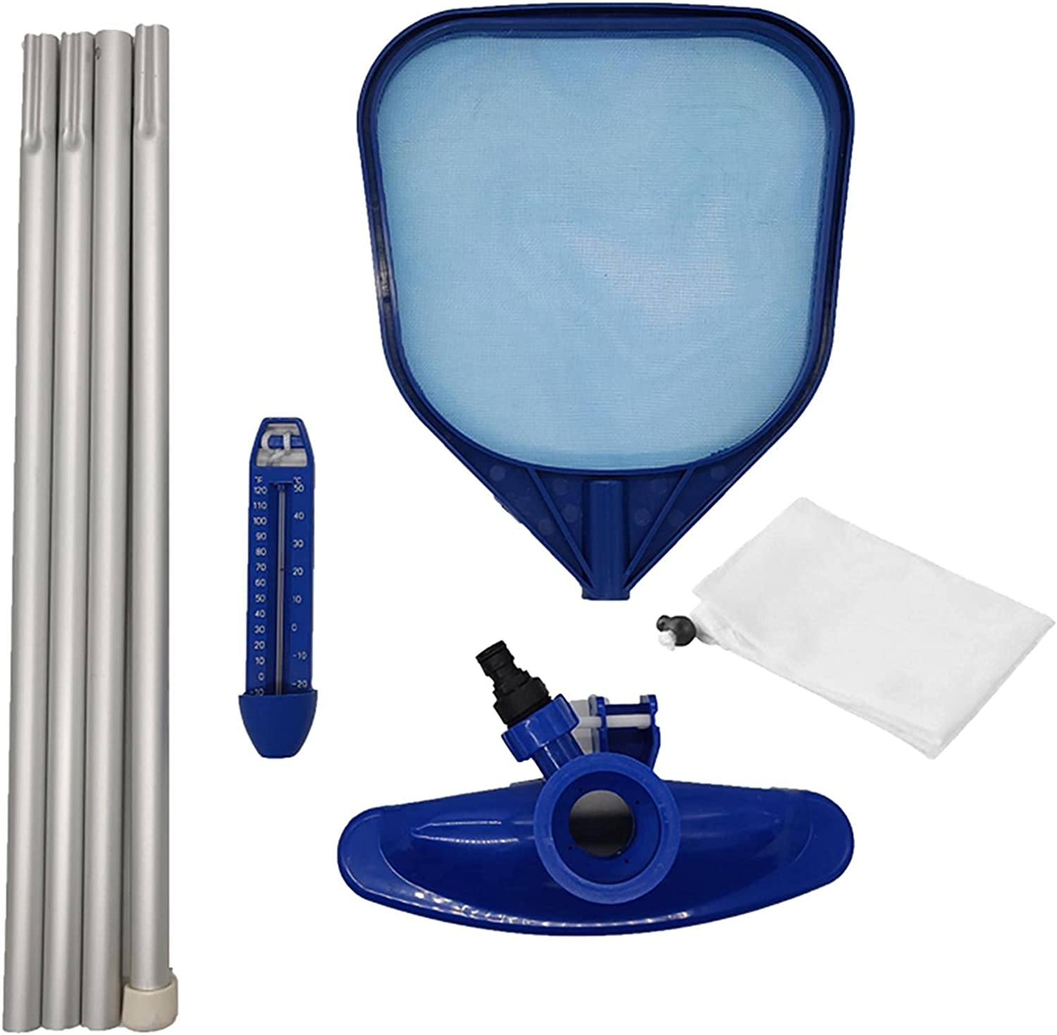 JBTT Professional All items Low price in the store Pool Skimmer Net Section with Aluminum 4 Pole