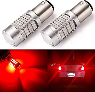 Pack of 2 ENDPAGE 1300 Lumens Extremely Bright 3157 3156 3057 3056 4157 LED Bulbs 54-SMD LED Chipsets with Projector for Backup Reverse Lights Xenon White 6000K Daytime Running Lights