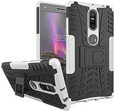 Ikwcase Lenovo Phab 2 Plus Case, Heavy Duty Armor Tough Hybrid Shockproof Dual Layer Kickstand Protective Case Cover for Lenovo Phab 2 Plus White