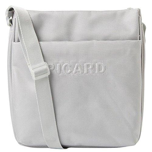 Picard HITEC 307710U Damen Umhängetaschen 21x24x4 cm (B x H x T), Silber (Silber)