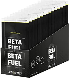 SCIENCE IN SPORT Beta Fuel, Maximum Endurance Energy Drink, 80g Carbohydrates, Isotonic Sports Drink Powder, Vegan, Gluten-free, Lemon & Lime - 15 Pack