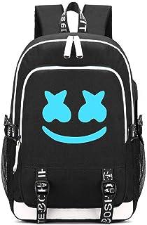 UMYMAYDO1 DJ Luminous Mochila, Unisex Schoolbag Mochila para portátil Bolsa Fresca para Adolescentes con USB Puerto , Bolsa de Viaje, Bolsa de Trabajo, Bolsa de Escuela (Color 4)