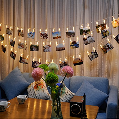 Fairy Lights with Clips for Phot...