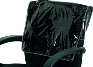 Betty Dain Square chair back cover, Black