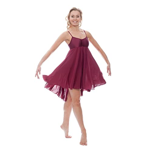 7508d396b32b Lyrical Dance Dress  Amazon.co.uk