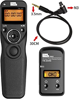 PIXEL FSK 2.4GHz Wireless Shutter Remote Release Control for Canon 7D Series, 5D Series, 50D, 40D, 30D, 10D