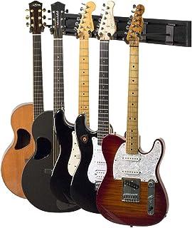 String Swing SW5RL-B-K Guitar Keeper Bundle with 5 Guitar...