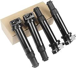 A-Premium Ignition Coils Pack for Hyundai Accent Kia Rio Rio5 2006-2011 1.6L Compatible UF499 27301-26640 C1543 (4-PC Set)