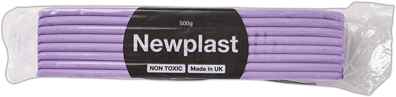Newplast Plasticine Violet Max 75% OFF Block of 500g Material Max 50% OFF Modelling