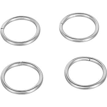 500pcs 5mm black split jump rings jewellery making findings craft UK