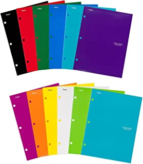 Five Star Pocket Folders, 4-Pocket, 12-1/2