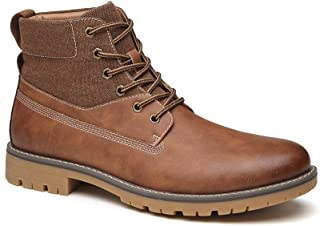 Mens Casual Comfort Hiking Boots Non-Slip Work Boot for Men