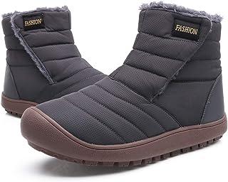 Chaussures Bottes de Neige de Hiver Homme Femme Fourrure Chaude Bottines Boots Outdoor Snow Sneakers Chaussures 36-45EU