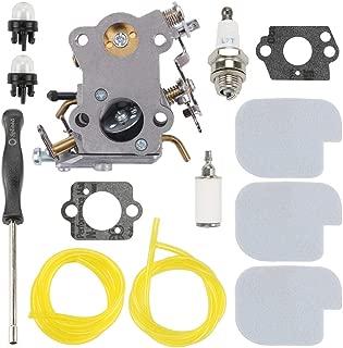 Trustsheer PP4218AVX PP3416 Carburetor Tune-up Kit for Poulan PP3516 PP3816 PP4018 PP4218 PPB3416 P3314 SM4218AV PPB4018 Gas Chainsaw C1M-W26C C1M-W26 545070601