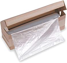 $100 » HSM Classic 58 gal. Shredder Bags, Clear Plastic, pkg. of 100