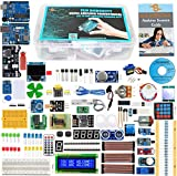Learning/Skill Level: Professional (Beginner to Advanced / Professional) User guide and Source code to be downloaded using the link/scan code provided with the kit. Package includes: 60-65 Different types of Components related to Uno Interfacing / pr...