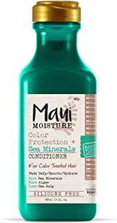 Maui Moisture Color Protection + Sea Minerals Conditioner (13 Ounce) Protect Color-Treated Tresses With a High-Potency Blend