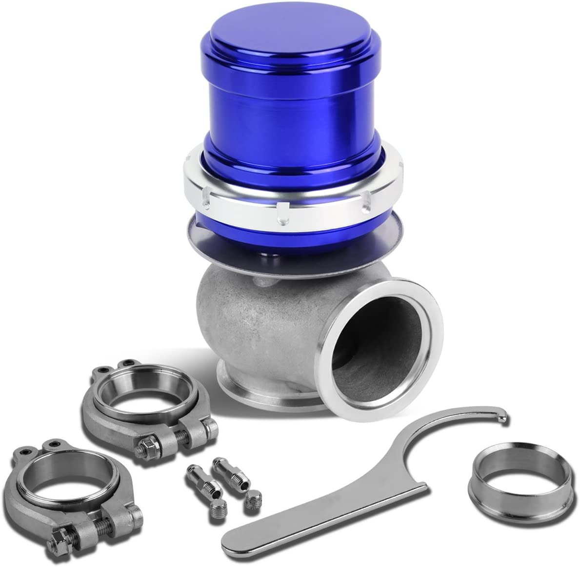 DNA Motoring WG-TS-40MM-T22-BL External Wastegate Turbo New products 1 year warranty world's highest quality popular Manifold