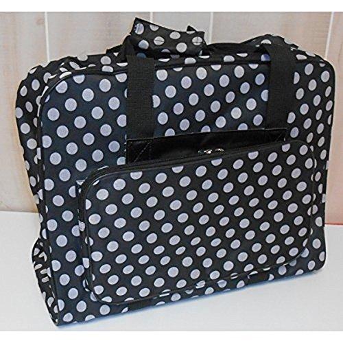 ttl Nähmaschinen Tasche (schwarz/weiß gepunktet)