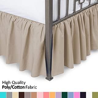 bed skirts queen 20 inch drop