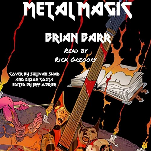 Metal Magic audiobook cover art