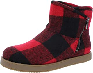 Indigo Rd. Womens Ashley Fabric Round Toe Ankle Fashion Boots