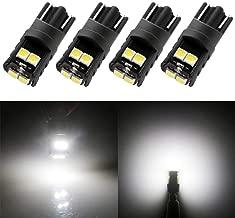 Yaagoo W5/W T10/168/194/501/Wedge ampoules LED Super Lumineux CANBUS sans erreur Int/érieur Ext/érieur Dome carte Porte ampoule de plaque dimmatriculation Courtois 2/pcs glace Bleu