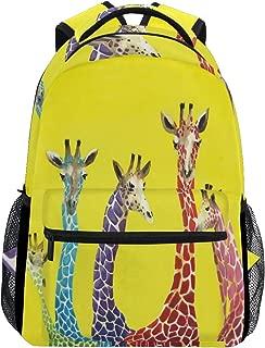 Backpacks Giraffe College School Book Bag Travel Hiking Camping Daypack