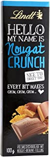 Lindt Hello Nougat Crunch Chocolate, 39 gm