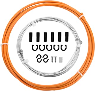 EASTERN POWER Bicycle Brake Cable & Housing, Mountain Bike Brake Cables Set, Universal Bike Brake Cables for MTB/Road Bike