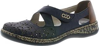 Rieker 463H4 Femme Chaussures à Enfiler,Slip-on,Occasionnel,Loisir