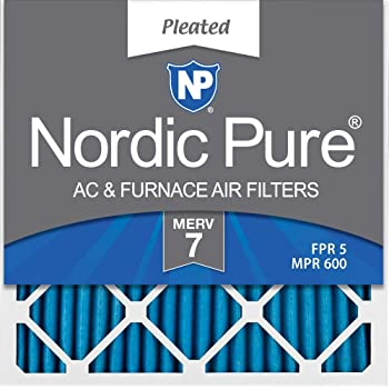 Nordic Pure 12x30x1 MERV 12 Pleated AC Furnace Air Filters 1 Pack