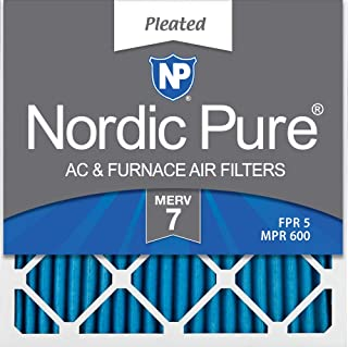 Nordic Pure 17/_1//2x23/_1//2x1 MERV 13 Pleated AC Furnace Air Filters 3 Pack