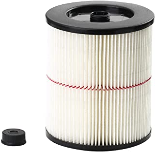 Craftsman 9-17816 General Purpose Red Stripe Vacuum Cartridge Filter, 8.5 Inches - White