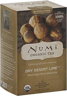 Numi Tea Dry Desert Lime Herbal Tea ( 6x18 BAG)