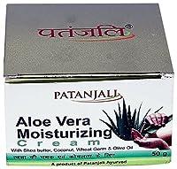 PATANJALI Alovera Moisturizer Cream, 50g by Patanjali