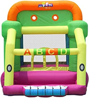 BaoYPP Inflable Castillo Hinchable Kinder Castillo Inflable al Aire Libre de Interior del Coche Inicio Modelos Trampolín (Color : Multi-Colored, Size : 350x225x220cm)