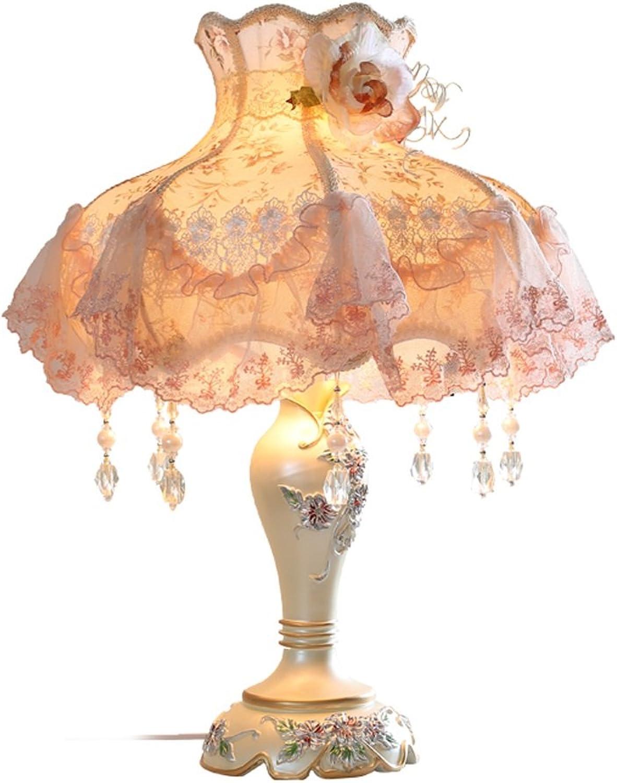 PIAOLING Europäische Art Garten Tuch Lampe, kreative Hochzeit Geschenke, beige Blaumen Dimmer, Wohnzimmer Schlafzimmer Dekoration B074J9GH4V | Deutschland Frankfurt
