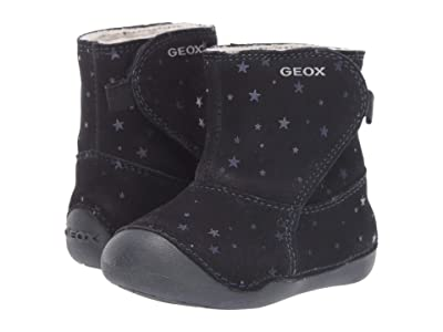 Geox Kids Jr Tutim 33 (Infant/Toddler) (Dark Blue) Girls Shoes