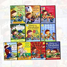 Harry and the Dinosaurs Collection Ian Whybrow 10 Books Bundle (Harry and the Bucketful of Dinosaurs,at the Museum,Go Wild,have a Happy Birthday,First Sleepover)
