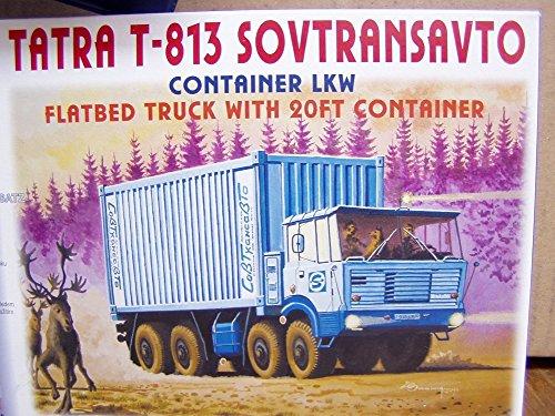 SDV LKW Tatra T-813 Container Transportfahrzeug Kunststoff Modellbausatz 1:87 H0