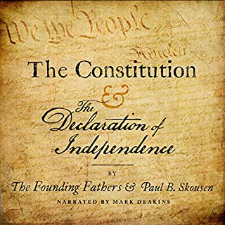 The Constitution and the Declaration of Independence audiobook cover art
