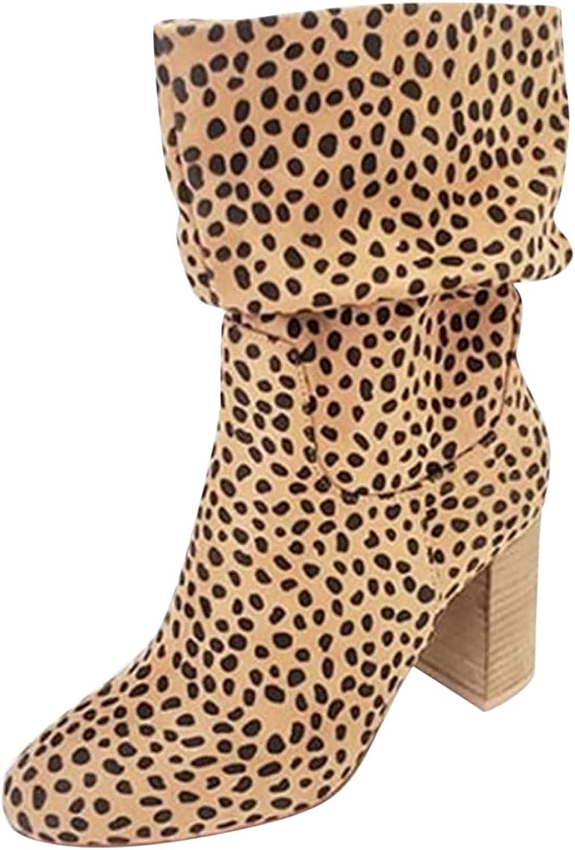 Chelsea Women Boots Comfortable Punk Ankle Boots Female Winter Heels Platform Boots Slip On Footwear Flock Short Boot