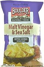 product image for Boulder Canyon All Natural Kettle Cooked Potato Chips Malt Vinegar and Sea Salt -- 5 oz (Pack of 2)
