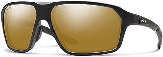 نظارات شمسية مستقطبة Smith Pathway Chromapop غير لامعة أسود/برونزي عاكس مستقطب، مقاس واحد - رجالي