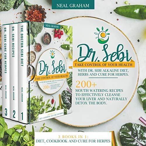 Dr. Sebi: 3 Books in 1 cover art
